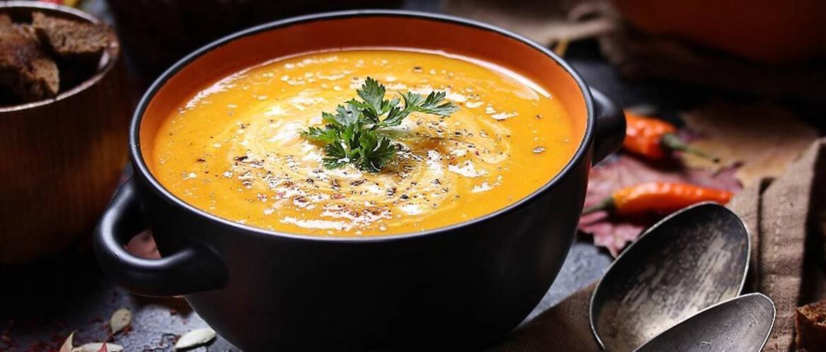 Тыквенный суп-пюре. Пошаговый рецепт с фото