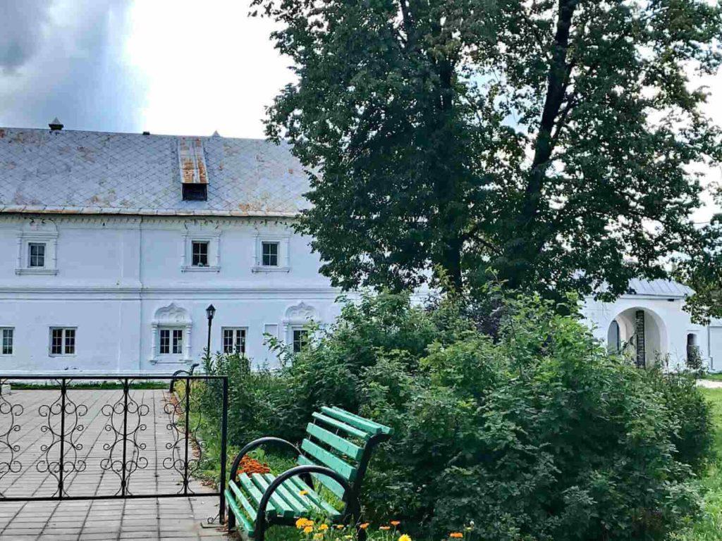 Свято-Троицкий Данилов монастырь. Храм на месте древнего захоронения