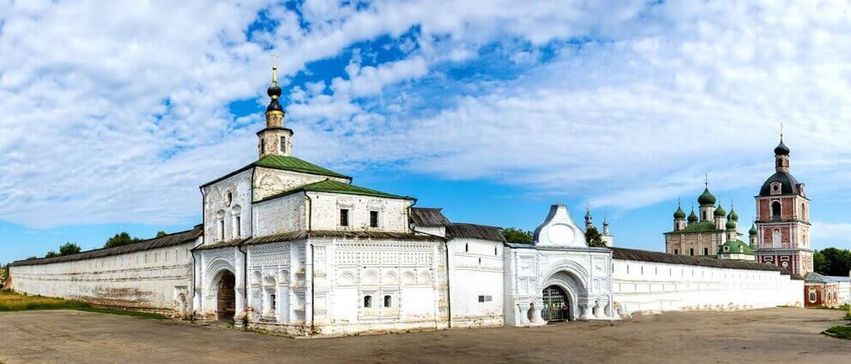 Горицкий монастырь Переславля-Залесского. Храм Николая Угодника и часы Ивана Грозного